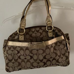 Coach Penelope Signature Satchel Purse